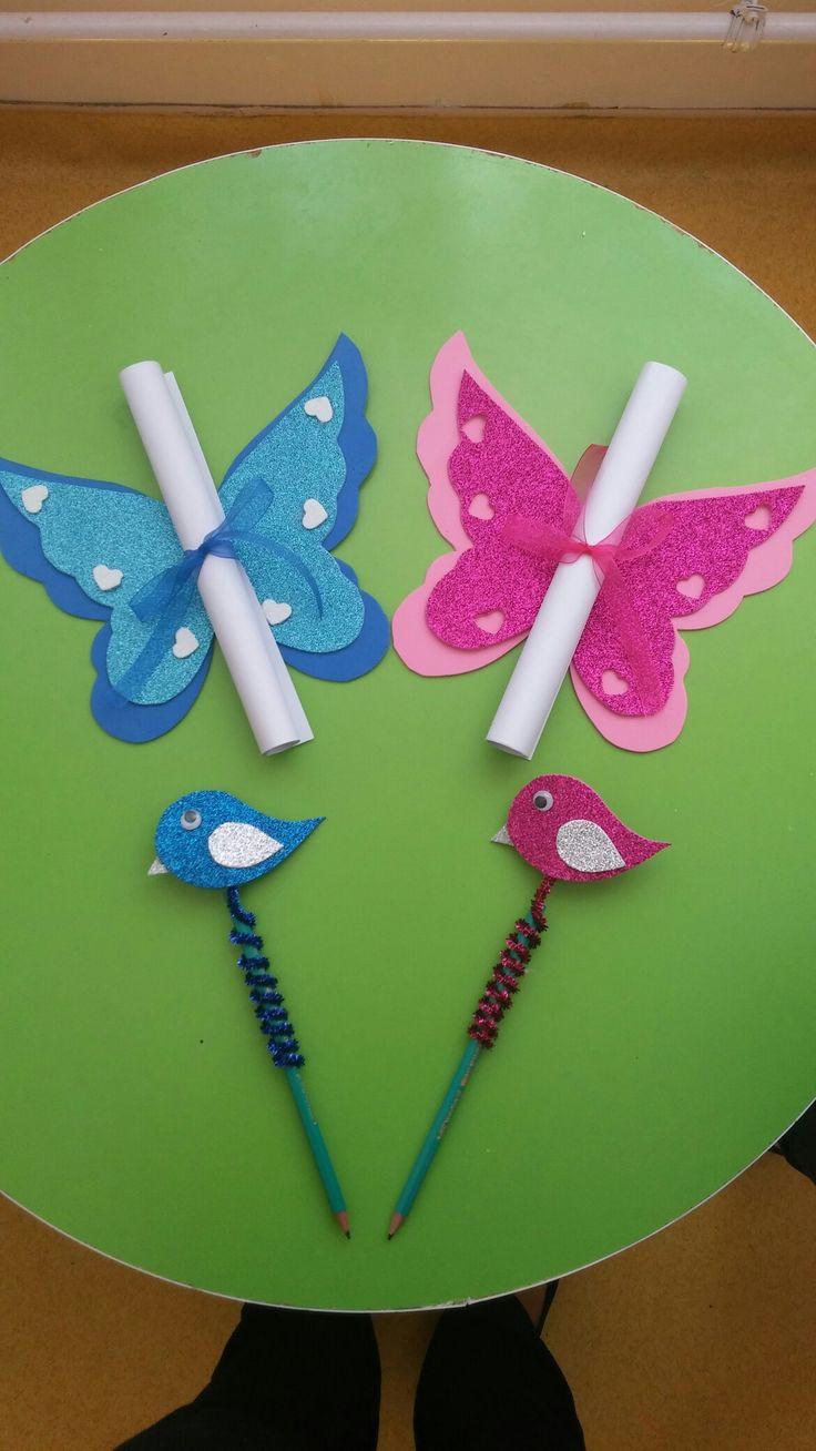 Kelebek karne, karne hediyesi