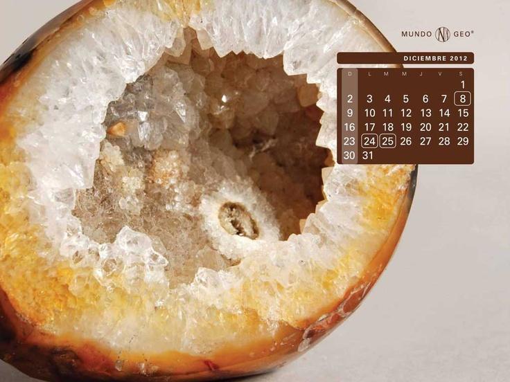 Mes de diciembre - Geoda de cuarzo y citrino