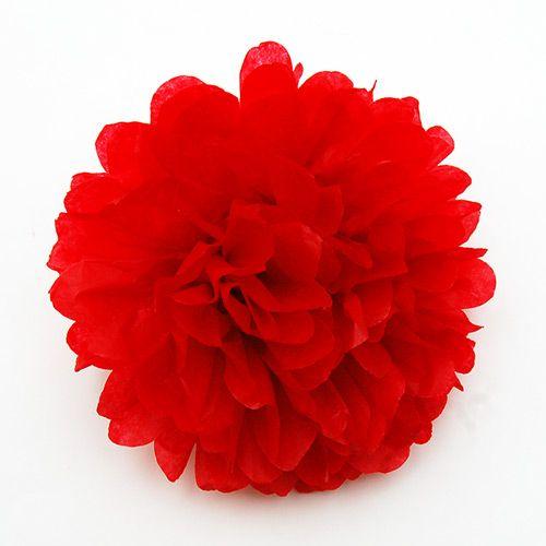 Tissue Paper Pom Pom Flowers Kids Crafts Fun Craft Ideas