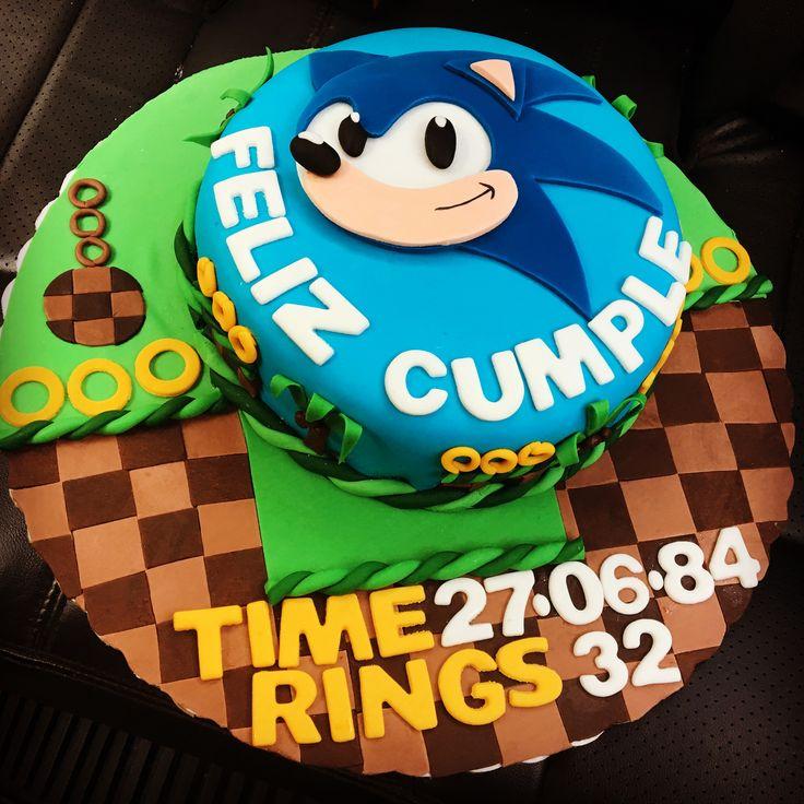 Pastel de Sonic Gamer cake Sonic Cake
