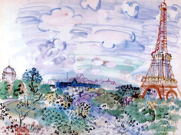 Raoul Dufy, La Tour Eiffel Plus