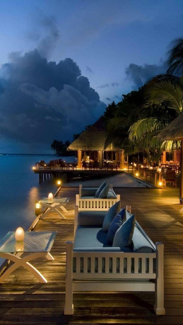 Beautiful Resort, Conrad Maldives Rangali Island.