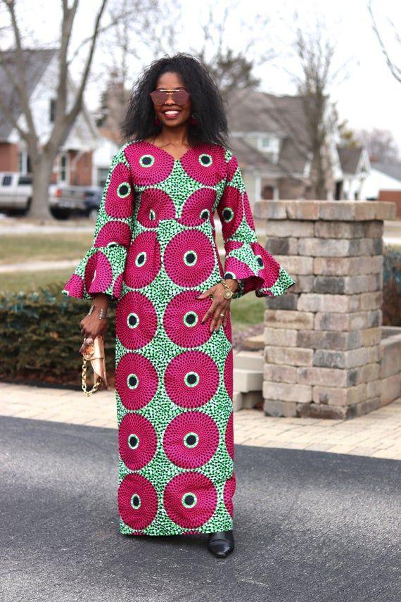 African Print Dress African Dresses Ankara Dress African Etsy In 2020 African Prom Dresses African Print Fashion Dresses Latest African Fashion Dresses