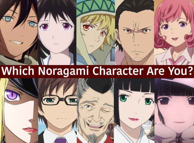 """Which """"Noragami"""" Character Are You I got Bashamonten"""