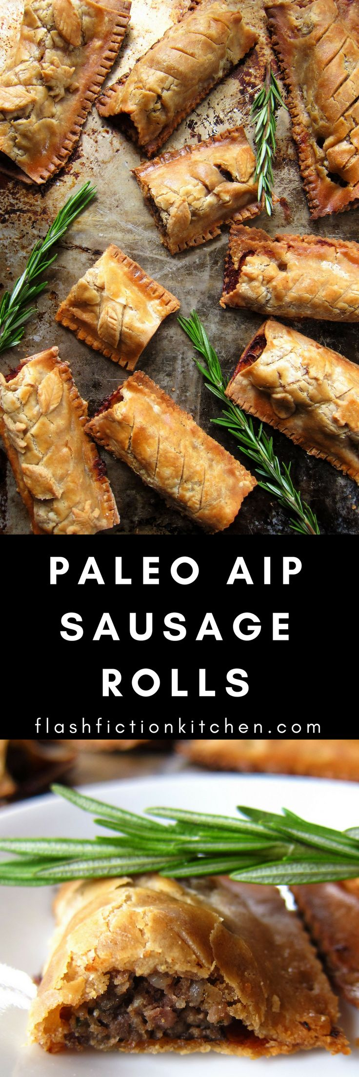Sausage Rolls & Pasties from Flash Fiction Kitchen (Paleo, AIP)
