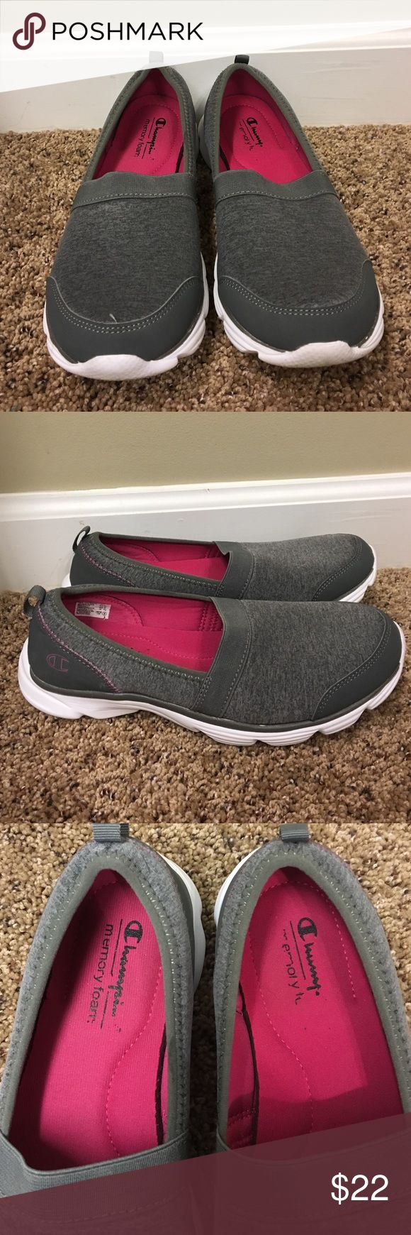 Grey women's memory foam sneakers. These memory foam sneakers are like walking on air. They are immaculate as they have only been worn a couple of times. Shoes Sneakers