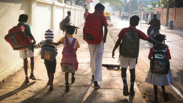 More than 80% - 90% of students in India don't graduate from HS