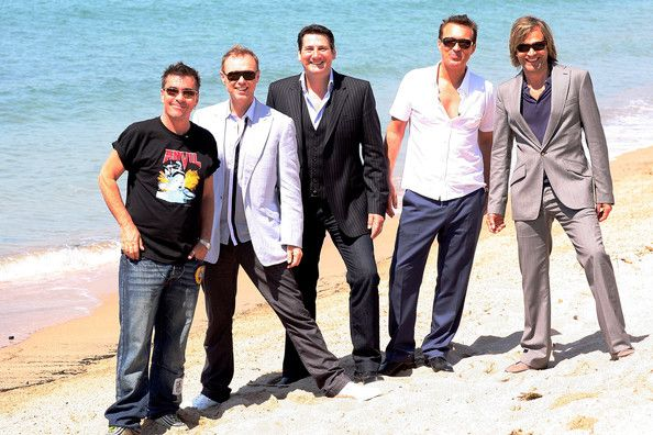 Gary Kemp and Martin Kemp Photos Photos - (UK TABLOID NEWSPAPERS OUT) L-R John Keeble, Gary Kemp, Tony Hadley, Martin Kemp and Steve Norman of Spandau Ballet attend The Cannes Film Festival at Carlton Beach during the 62nd International Cannes Film Festival on May 19, 2009 in Cannes, France.  (Photo by Dave Hogan/Getty Images) * Local Caption * John Keeble;Gary Kemp;Tony Hadley;Martin Kemp;Steve Norman - Spandau Ballet Attend Cannes -2009 Cannes Film Festival