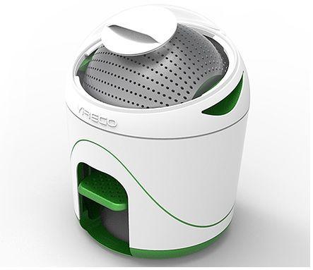 Yirego Drumi: Fuß-betriebene Waschmaschine