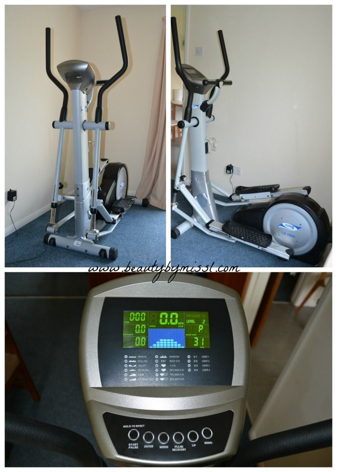 Ls elliptical cross trainer from hire fitness via