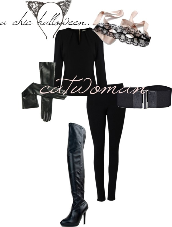 Easy DIY Catwoman Costume I'm either going to be cat woman, or female Han Solo. :3