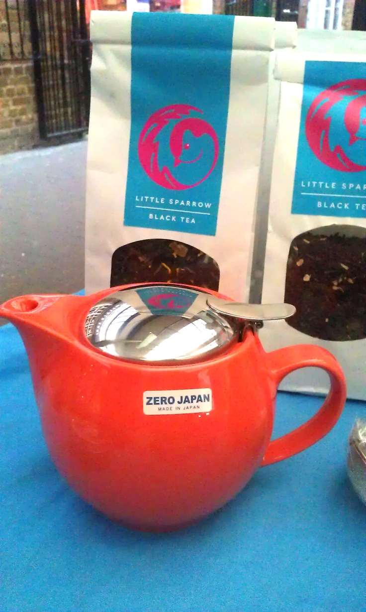 Zero Japan teapot £40. Fridays at Greenwich Market.