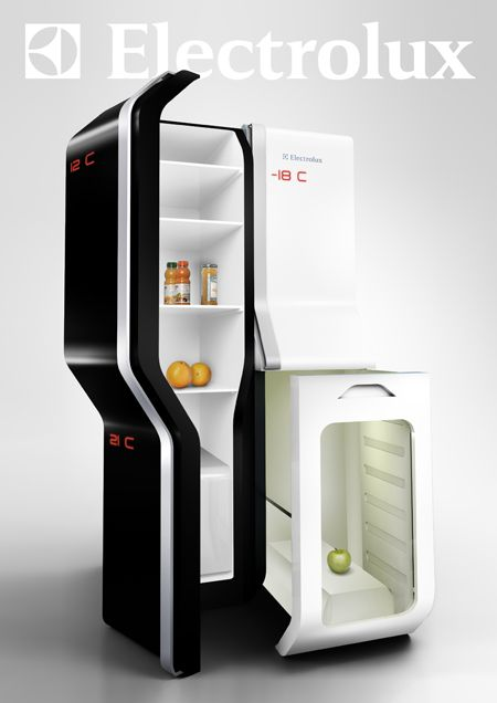A teleporting fridge