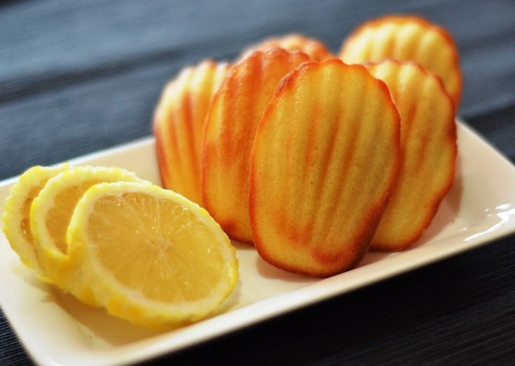madeleines citron vanille recette weight watchers