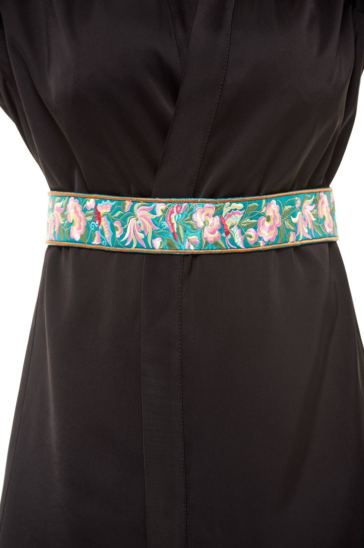 StarShinerS Traditional Turquoise Embroidered Belt