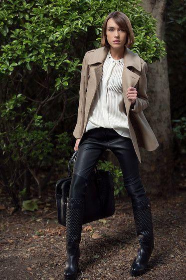 Belstaff Coat, Belstaff Shirt, Belstaff Trousers, Belstaff Boots & Bag