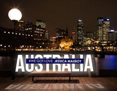 """Check out new work on my @Behance portfolio: """"Australia Eurovision 2018"""" http://be.net/gallery/63010331/Australia-Eurovision-2018"""