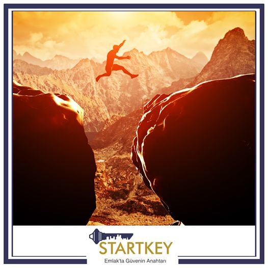 Startkey Akademi linkine tıkladıktan sonra söylenen ilk cümle: 'İmkansız diye bir şey yoktur!' www.startkeyakademi.com