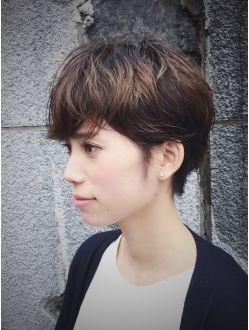 カッツヘアー(KATZHAIR)柔らかいベリーショート// セシルショート 久利須スタイル
