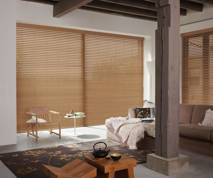 Luxaflex Wood Essence Blinds provide a practical alternative to timber Venetian blinds. They are perfect for high-humidity areas such as bathrooms where regular timber Venetians would be unsuitable. #luxaflexaus #venetians #timbervenetians #windowfashions #windowcovering #sale #midyearsale