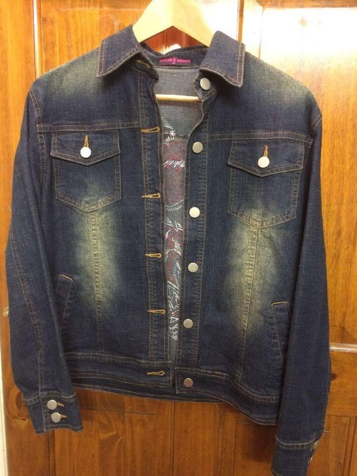 Butler & Wilson Denim Jacket sized Medium   eBay