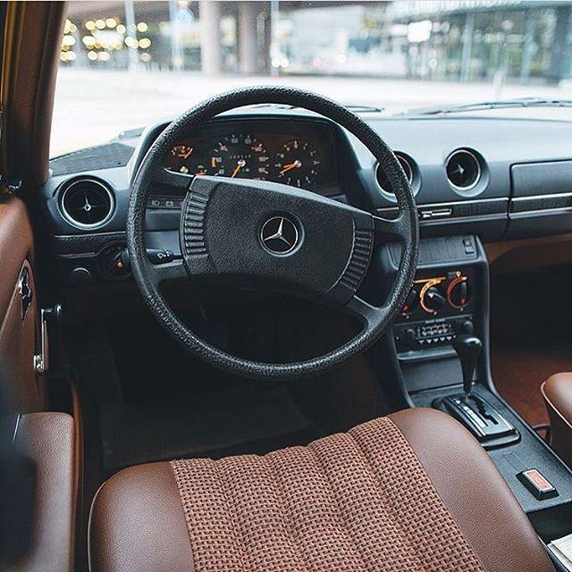 Perfect Interior W123 By Simonlaslo Mercedes Mercedesbenz