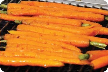 Wortels met sinaasappelglazuur