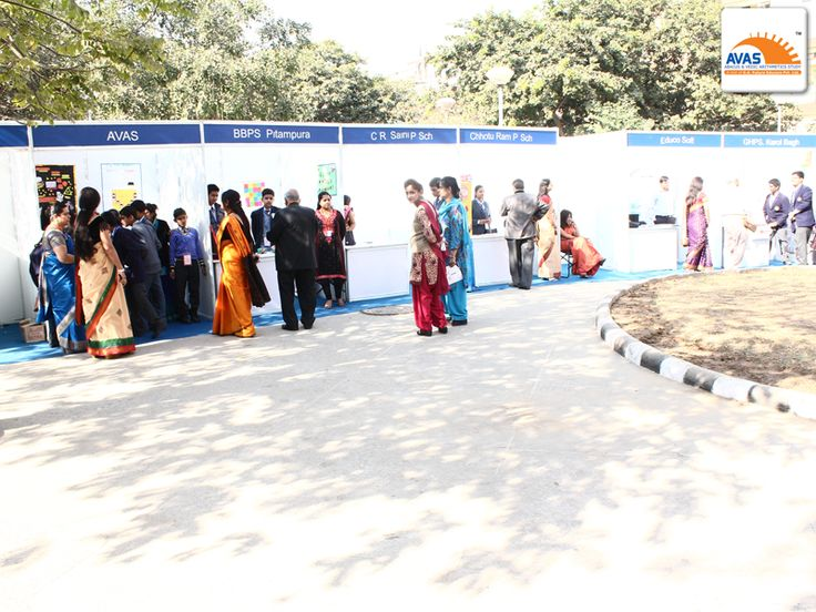 15 stalls from different school at national maths expo on 6th Dec'2014 at IIT Delhi. event organized by AVAS India