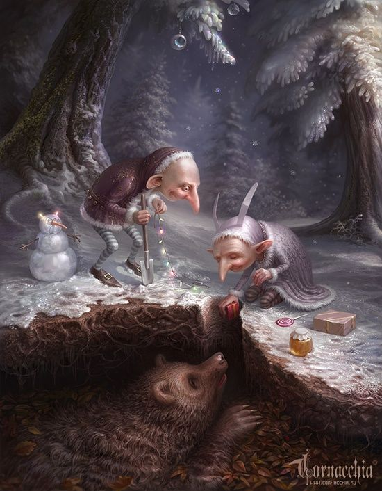 Amazing Cornacchia's Fairytale Artworks