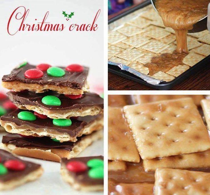 Christmas Crack Saltine Toffee