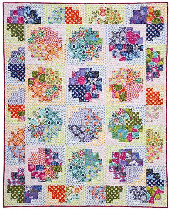 pattern: sweet rolls: Sweetrolls, Laura Nownes, Quilt Ideas, Quilt Patterns, Log Cabins, Sweet Rolls, Log Cabin Quilts, Rolls Quilt