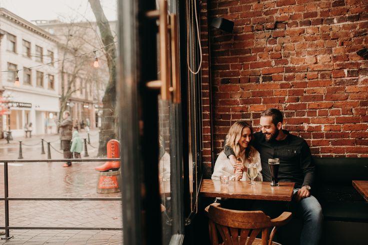 Amanda & Eric Gastown Vancouver Engagement Session - Laura Olson Photography - Sunshine Coast BC Photographer - Vancouver Photographer    www.lauraolsonphoto.com  www.instagram.com/lauraolsonphotography