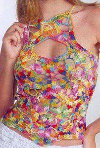 DE MIS MANOS TEJIDOS Y MAS...: Lindas poleras a crochet con patrones