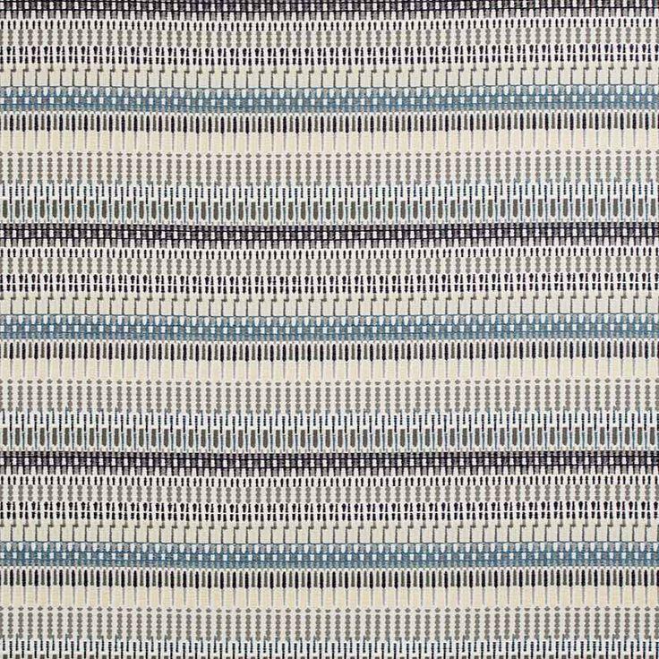 Warwick Fabrics : TALLINN, Colour INDIGO