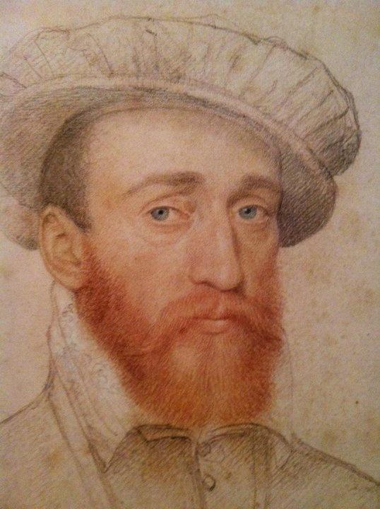 CLOUET François - (Tours circa 1515-1572 Paris) - François de Coligny, seigneur d'Andelot