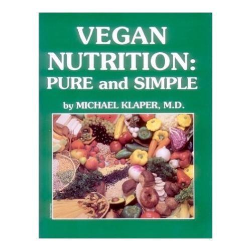 Веганское питание: чисто и просто Vegan Nutrition: Pure and Simple 1997 http://veggiepeople.ru/node/1761  Классическая книга о том, почему веганская диета разумна и как правильно её соблюдать. Из книги вы узнаете почему поедание животных продуктов плохо для вашего здоровья, опасно для окружающей вас среды и абсолютно необязательно для любого человека, молодого или старого.  Содержит информацию о том, как получить все необходимые питательные вещества и собрать полноценное веганское меню…