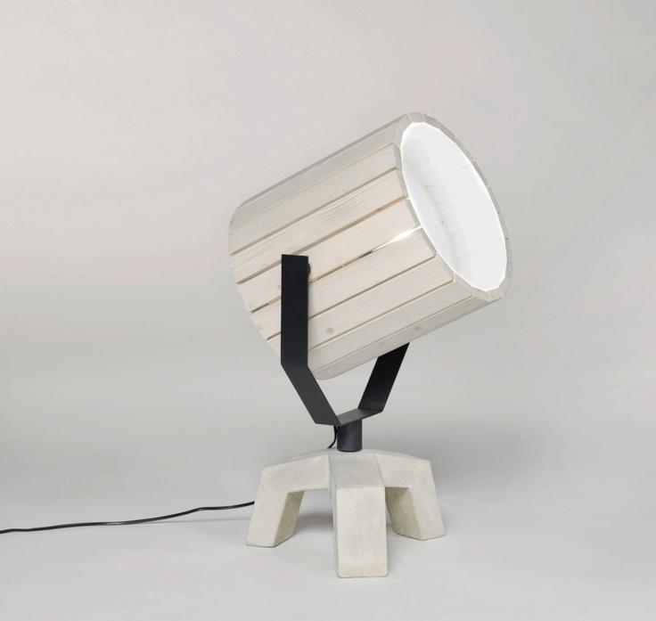 Floor Lamp /// Barrel