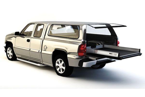 BEDSLIDE 1000 Truck Bed Sliding Drawer - Best Price on IFW BEDSLIDE 1000 Pickup Truck Bed Slide Out - SR10 BEDSLIDE