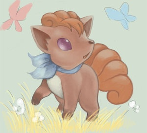 Pokemon #37- Vulpix my favorite :3