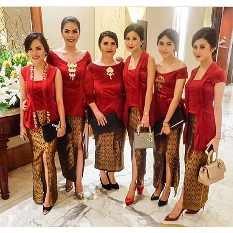 Braids maid in Kebaya