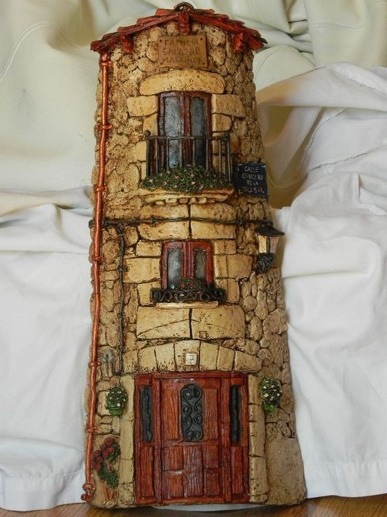 Artesanatos com Telhas de Barro                                                                                                                                                                                 Mais