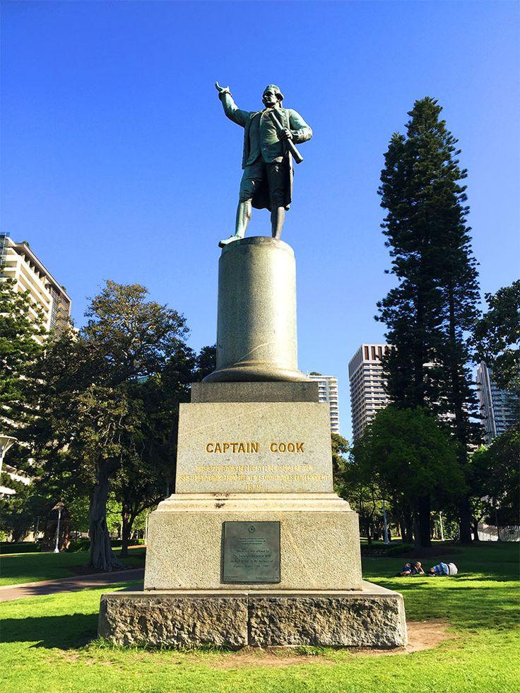 7. Visit Captain James Cook's statue
