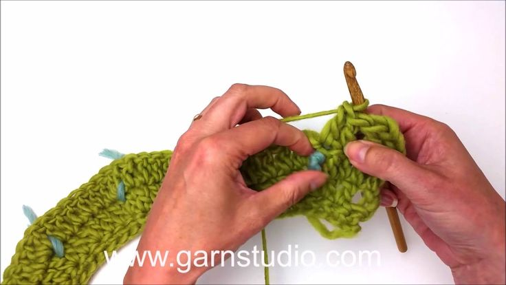Round yoke crochet: How to increase right/left of markers