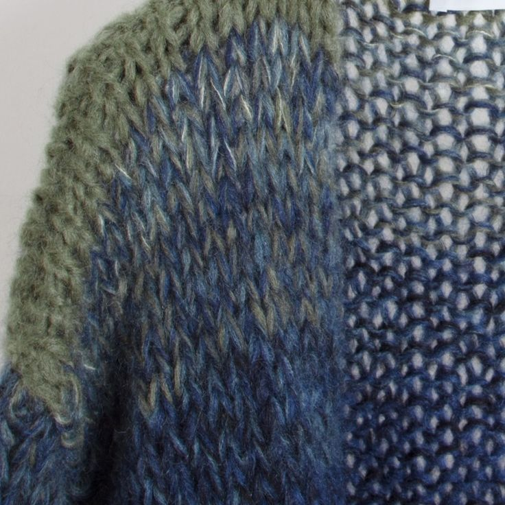 Mohair Big Cardigan, Gradient by Maiami - chic edition