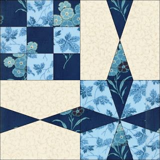 Chain of Diamonds on Cloud of Quilt Patterns