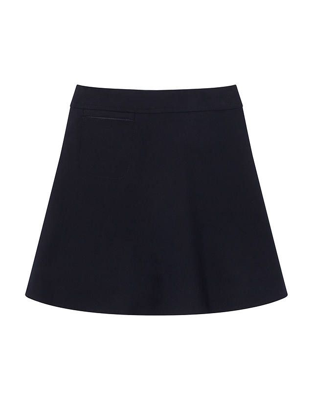 46e23e6653 BuyJohn Lewis & Partners Girls' Easy Care Adjustable Waist A-Line School  Skirt, Navy, 3 years Online at johnlewis.com