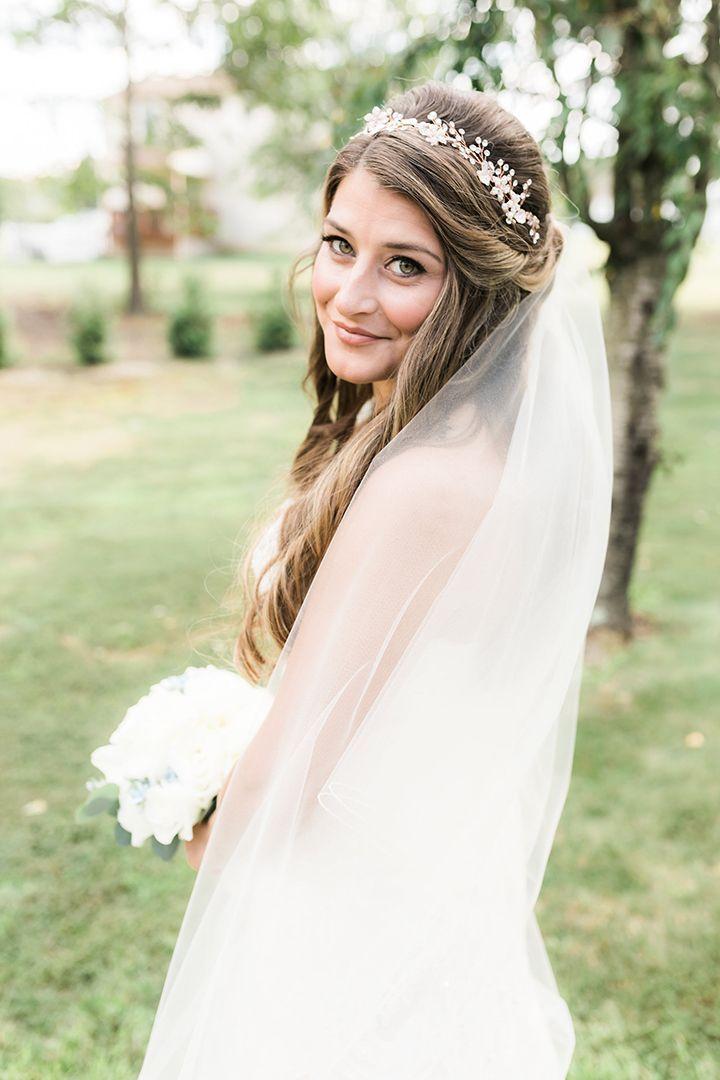 2019 Designer Wedding Dresses Bridal Gowns Hair Makeup Beauty Wedding Hairstyles Bride Bride Hairstyles Bridal Hair Veil