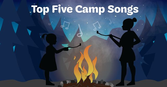 Top Five Camp Songs http://blog.girlscouts.org/2015/07/5-camp-songs-every-girl-scout-should.html