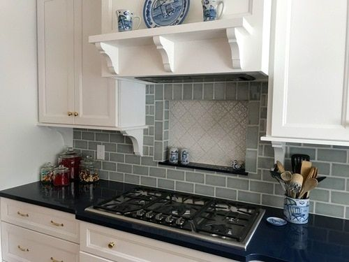 Dreamy Nautical Kitchen with Hiser Handmade Tile
