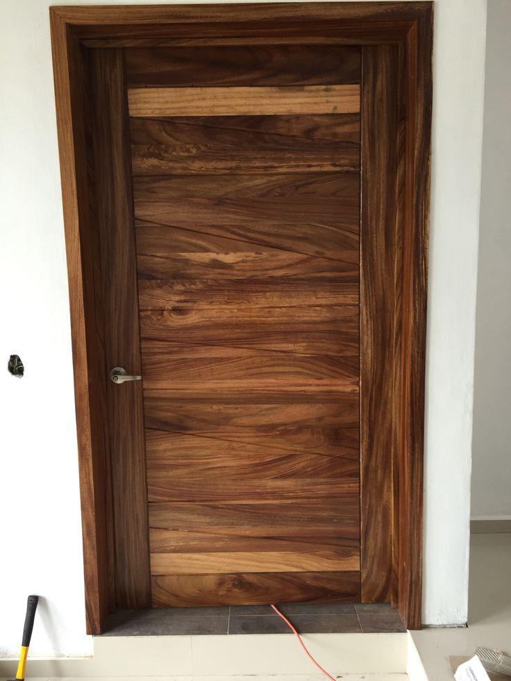 M s de 25 ideas incre bles sobre puertas de madera en for Disenos de puertas de madera para exterior